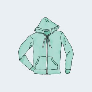 Hoodie with Zipper